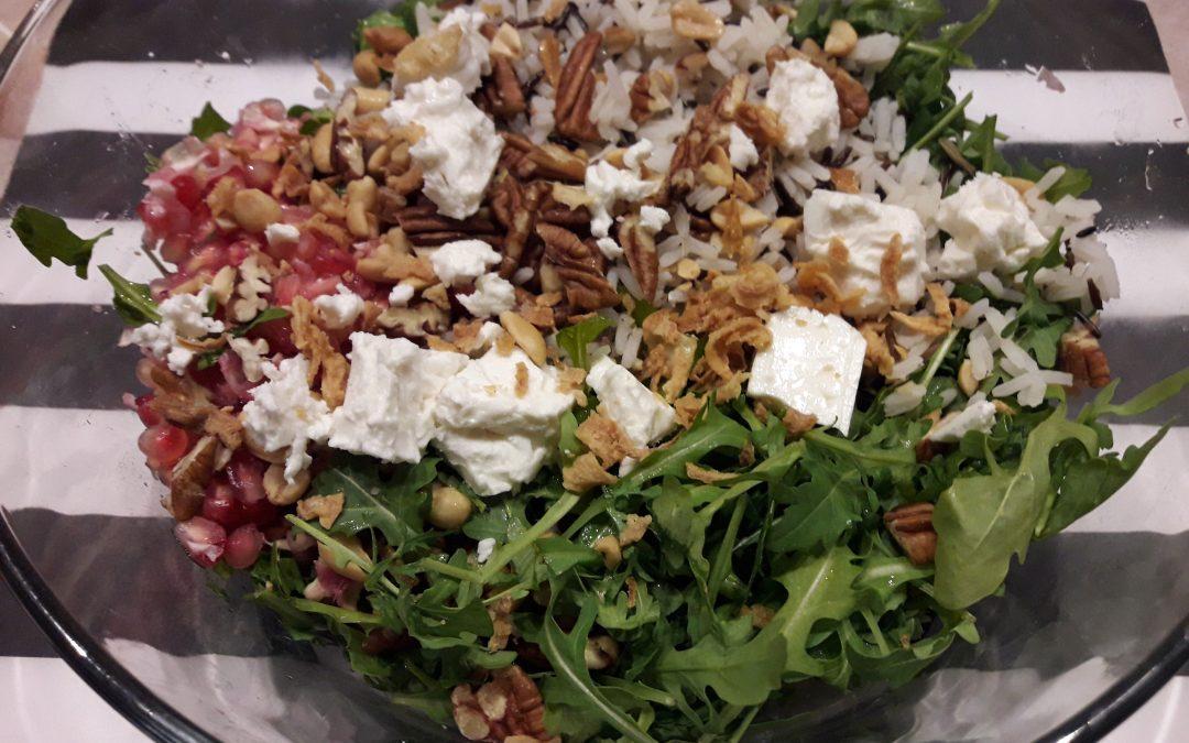 Wilde rijst salade