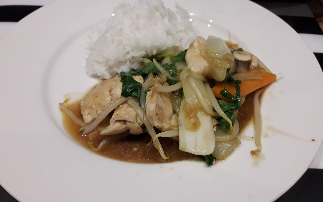 Roerbakken kip (Chop Suey)