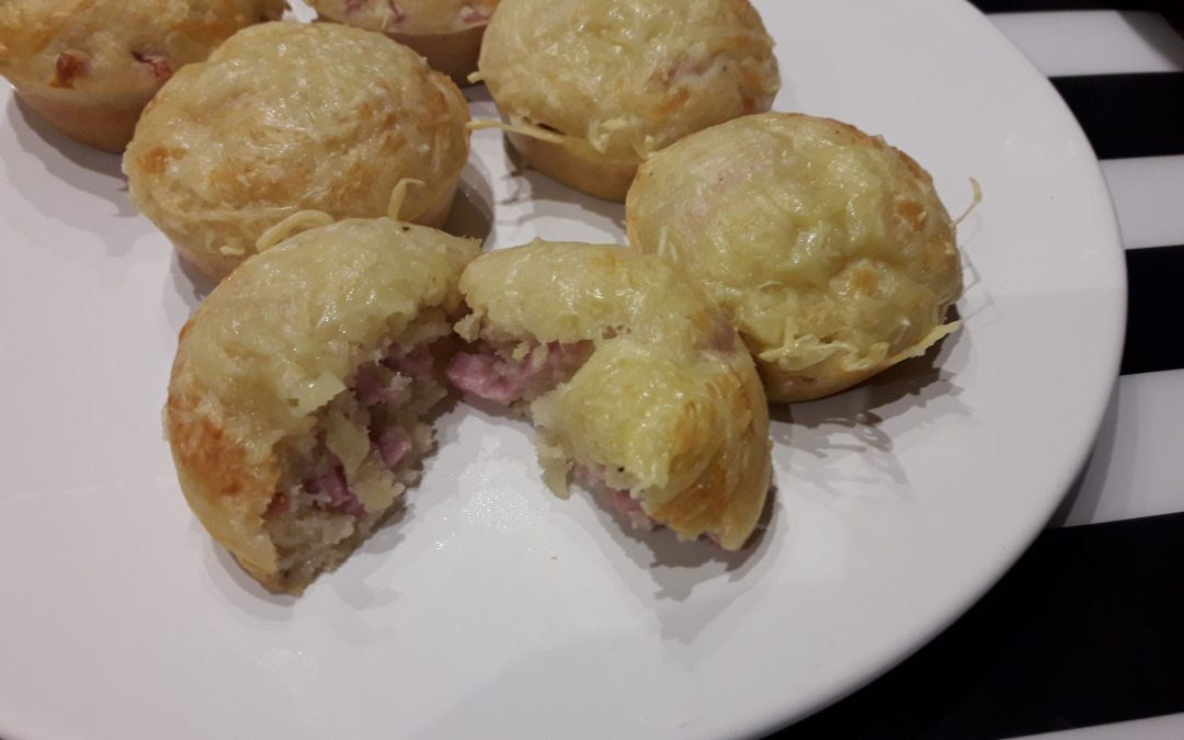 Ham-Kaas Muffins
