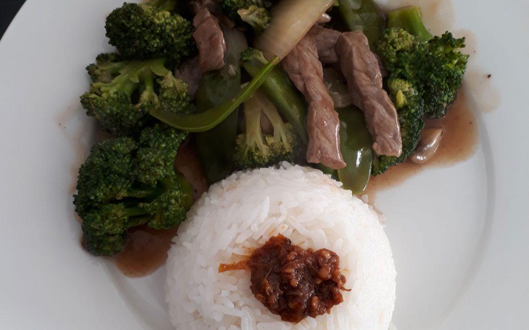 Rundsvlees met broccoli