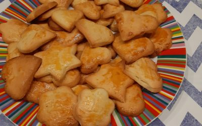 Amandel-zanddeeg koekje