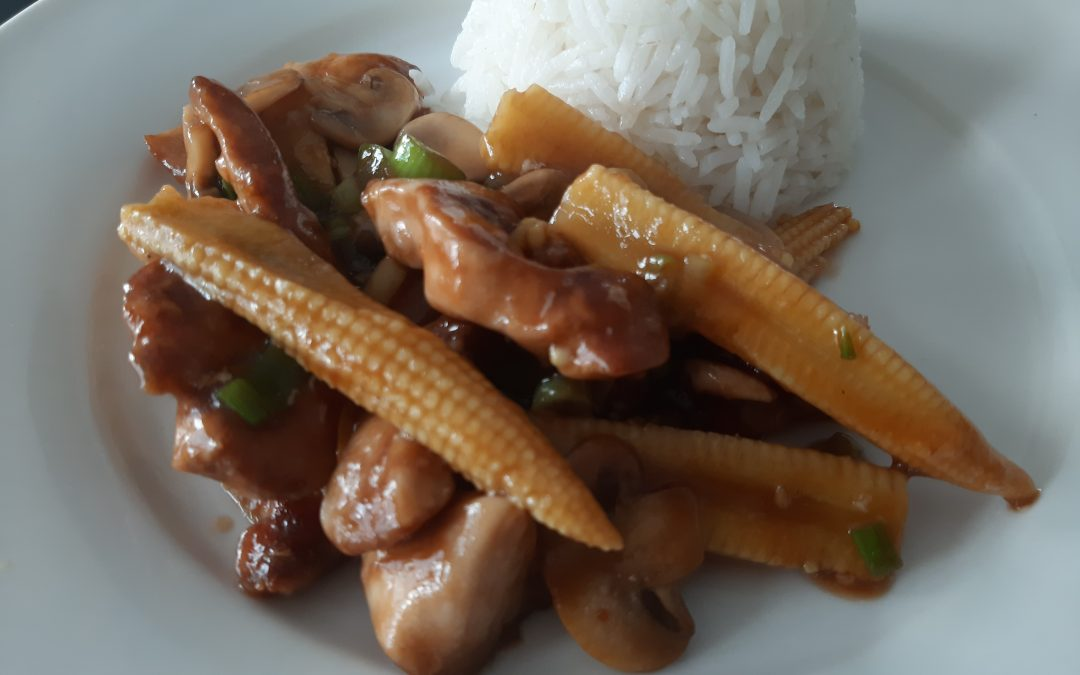 Chinese kip-champignon