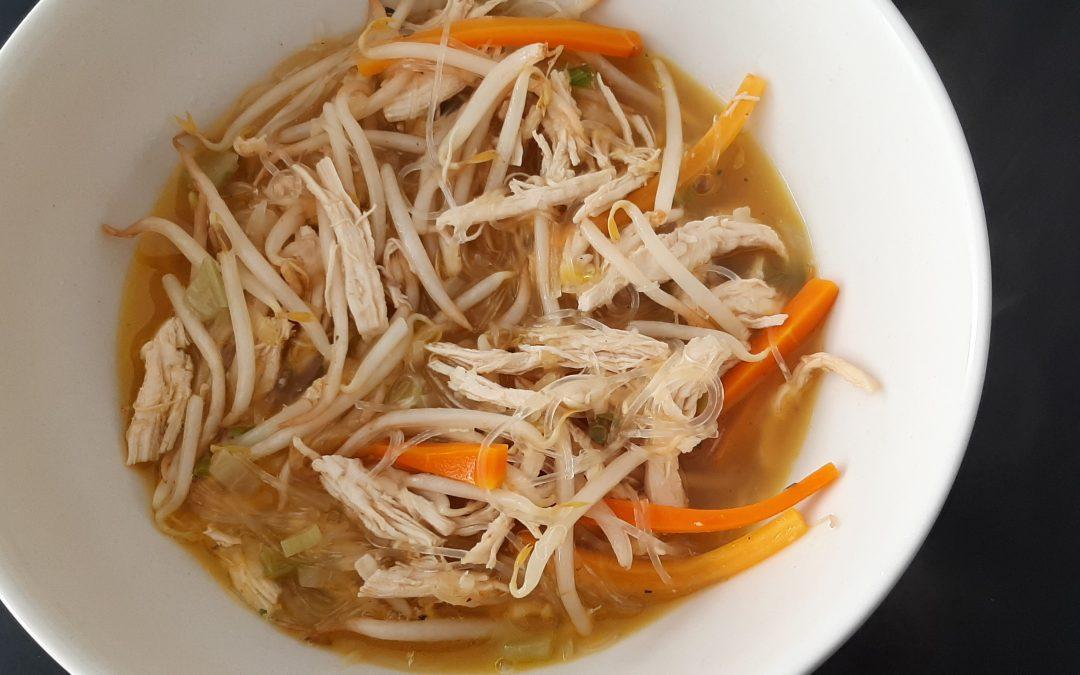 Chicken Sotanghon Soup (Filippino)